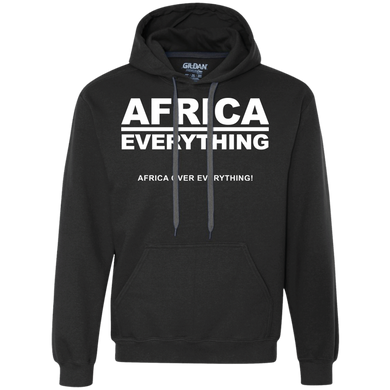 AFRICA OVER EVERYTHING Heavyweight Pullover Fleece (various colors)