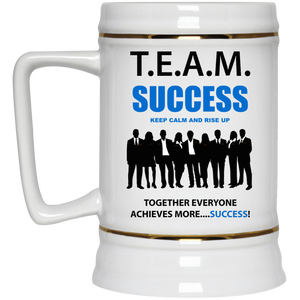 T.E.A.M. SUCCESS - RISE UP 22oz. Mega Mug