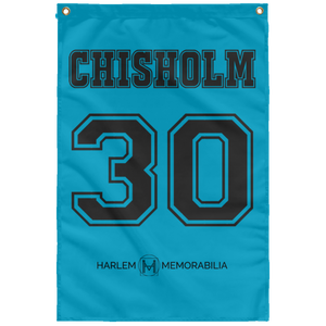 CHISHOLM 30 Wall Flag (various colors)