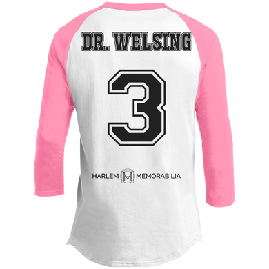 HARLEM MEMORABILIA - DR. WELSING 3 Sporty T-Shirt [2 Sided] (various colors)