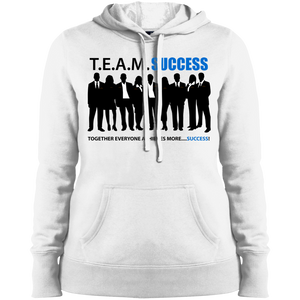 T.E.A.M. SUCCESS Sport-Tek Ladies' Pullover Hooded Sweatshirt (various colors)