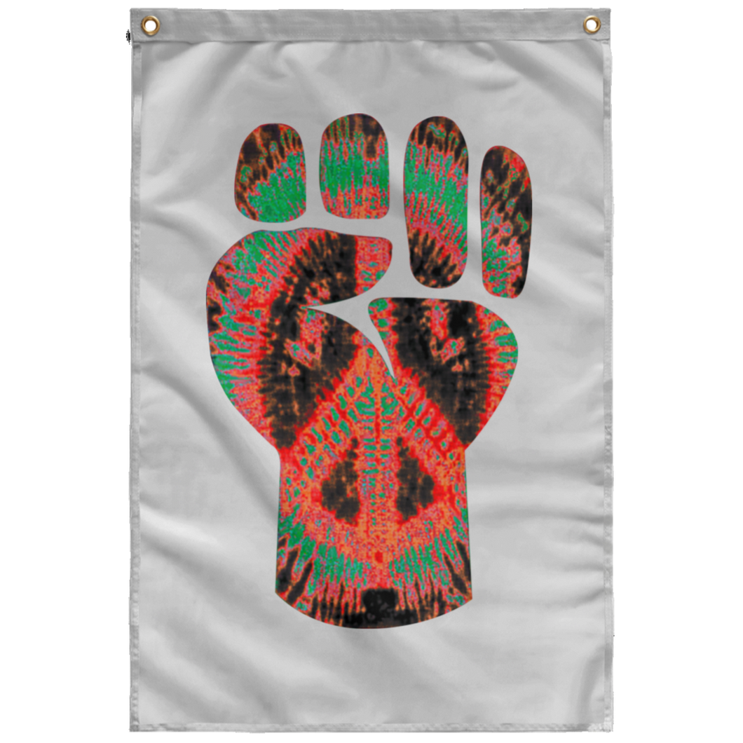 POWER FIST Wall Flag (various colors)