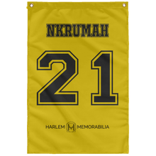 NKRUMAH 21 Wall Flag (various colors)