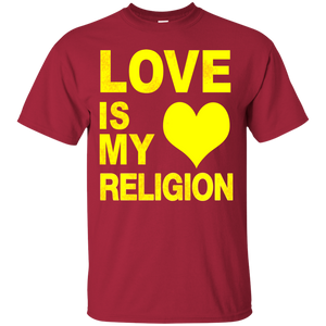 LOVE IS MY RELIGION [YELLOW] (various colors)