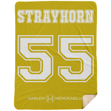 STRAYHORN 55 Extra Large Fleece Sherpa Blanket - 60x80 (various colors)