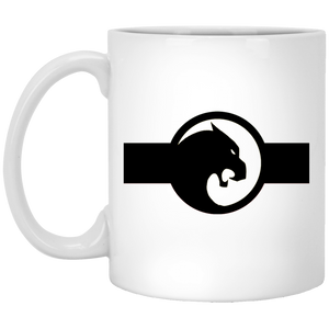 PANTHER 11 oz. White Mug