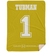 TUBMAN 1 Extra Large Fleece Sherpa Blanket - 60x80 (various colors)