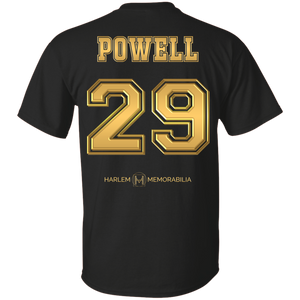 HARLEM MEMORABILIA [GOLD] - POWELL 29 [2 Sided]