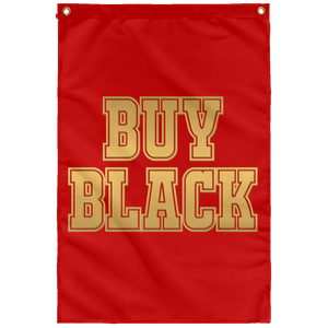 BUY BLACK [GOLD] Wall Flag (various colors)