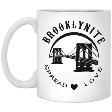 BROOKLYNITE - SPREAD LOVE 11 oz. White Mug