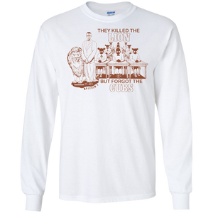 MALCOLM X - LION AND CUBS [REDDISH-BROWN] LS