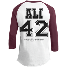 HARLEM MEMORABILIA - ALI 42 Sporty T-Shirt [2 Sided] (various colors)
