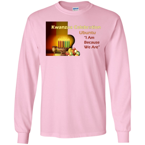 KWANZAA CELEBRATION - UBUNTU LS (various colors)