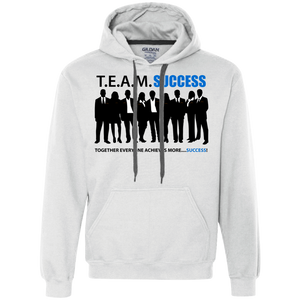 T.E.A.M. SUCCESS Heavyweight Pullover Fleece Sweatshirt