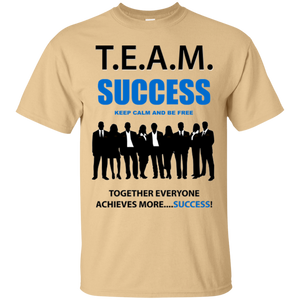 T.E.A.M. SUCCESS [BE FREE] Ultra Cotton T-Shirt (various colors)