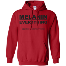 MELANIN OVER EVERYTHING Pullover Hoodie 8 oz. (various colors)