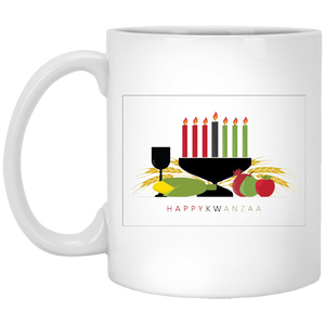 HAPPY KWANZAA 11 oz. White Mug
