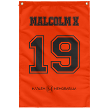 MALCOLM X 19 Wall Flag (various colors)