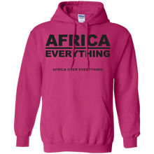 AFRICA OVER EVERYTHING Pullover Hoodie 8 oz. (various colors)