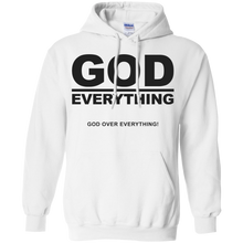 GOD OVER EVERYTHING Pullover Hoodie 8 oz. (various colors)