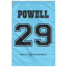 POWELL 29 Wall Flag (various colors)
