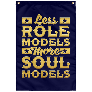 MORE SOULS MODELS Wall Flag (various colors)