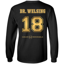 HARLEM MEMORABILIA LS [GOLD] - DR. WELSING 18 [2 Sided]