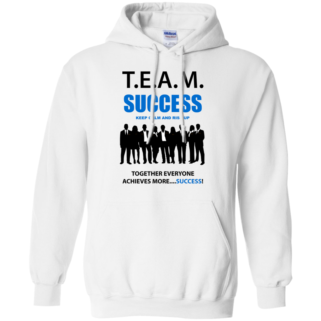 T.E.A.M. SUCCESS - RISE UP Pullover Hoodie 8 oz. (various colors)