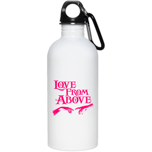 LOVE FROM ABOVE [PINK] 20 oz. Stainless Steel Water Bottle