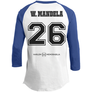 HARLEM MEMORABILIA - W. MANDELA 26 Sporty T-Shirt [2 Sided] (various colors)