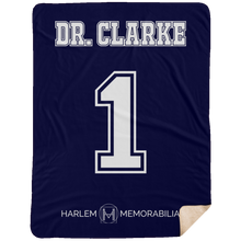 DR. CLARKE 1 Extra Large Fleece Sherpa Blanket - 60x80 (various colors)