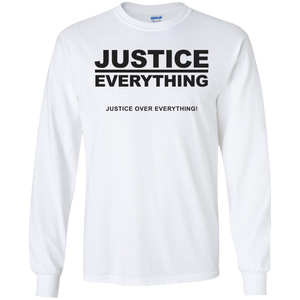 JUSTICE OVER EVERYTHING LS (various colors)