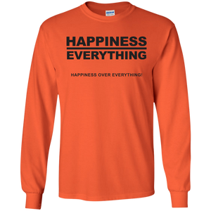 HAPPINESS OVER EVERYTHING LS (various colors)
