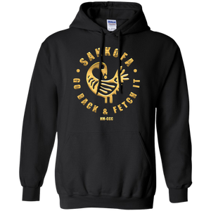 SANKOFA - GO BACK & FETCH IT Pullover Hoodie 8 oz.
