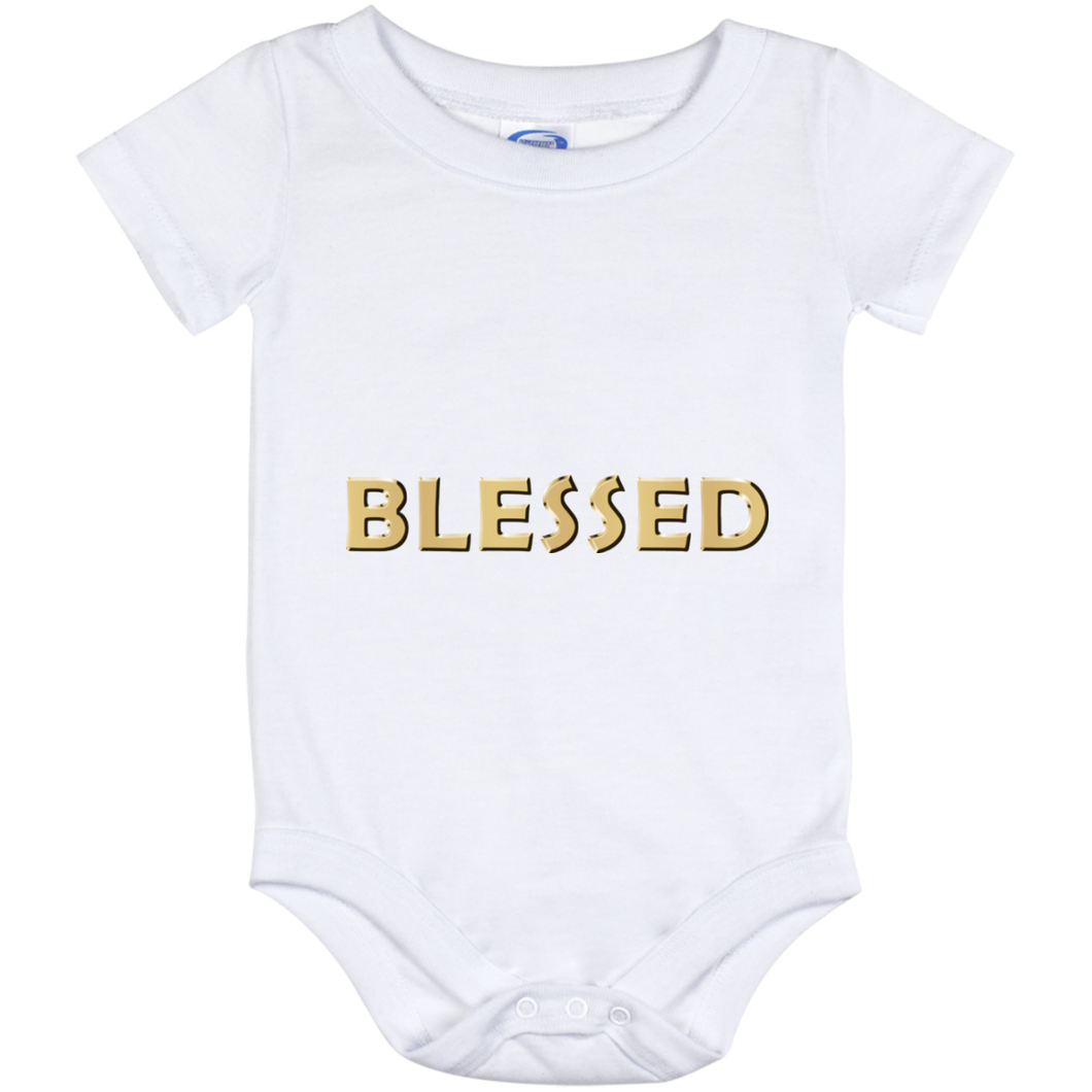 BLESSED Baby Onesie 12 Month