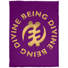 DIVINE BEING BEING DIVINE Baby Velveteen Micro Fleece Blanket - 30x40 (various colors)