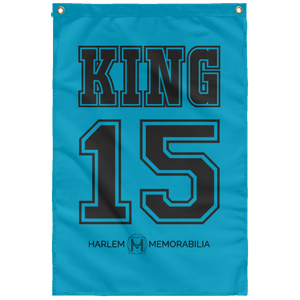 KING 15 Wall Flag (various colors)