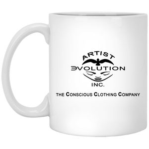 ARTIST EVOLUTION [CCC]  11 oz. White Mug