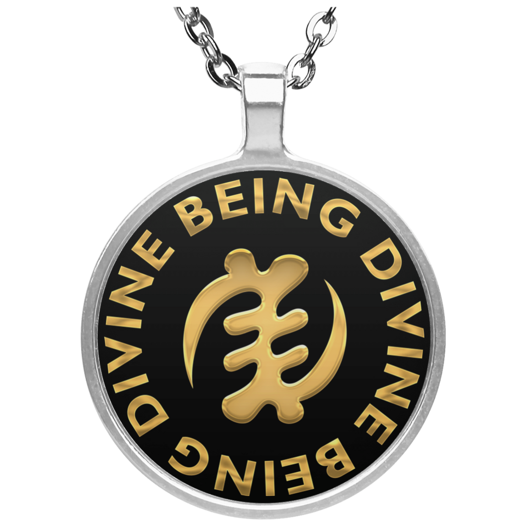 DIVINE BEING BEING DIVINE Circle Necklace