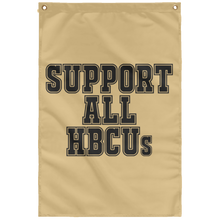 SUPPORT ALL HBCUs Wall Flag (various colors)