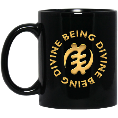 DIVINE BEING BEING DIVINE 11 oz. Black Mug