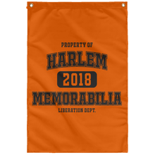 HARLEM MEMORABILIA [LIBERATION DEPT.] Wall Flag (various colors)