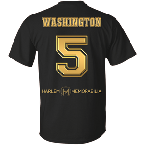 HARLEM MEMORABILIA [GOLD] - WASHINGTON 5 [2 Sided]