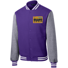 T.E.A.M. SUCCESS Fleece Letterman Jacket (various colors)