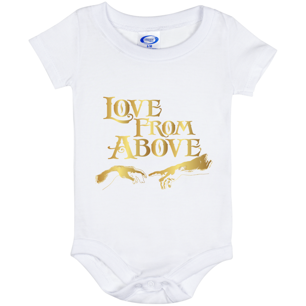 LOVE FROM ABOVE [GOLD] Baby Onesie 6 Month