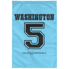 WASHINGTON 5 Wall Flag (various colors)
