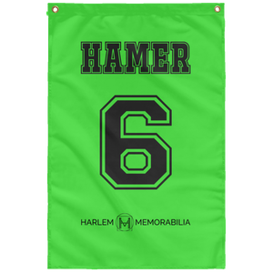 HAMER 6 Wall Flag (various colors)