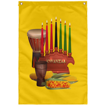 KWANZAA Wall Flag (various colors)