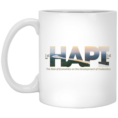 HAPI 11 oz. White Mug