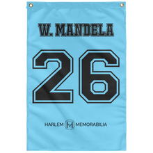 W. MANDELA 26 Wall Flag (various colors)